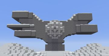 Monument of the Revolution of the People of Moslavina (Snow Version) Minecraft Map & Project