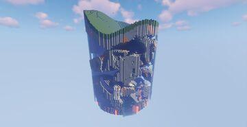Circular Cave World 1.17 Minecraft Map & Project