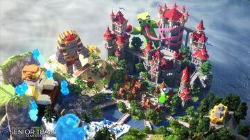 Kingdom Spawn Minecraft Map & Project
