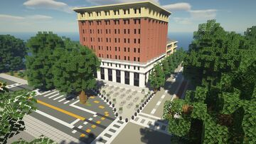 Downtown Brick Building Minecraft Map & Project