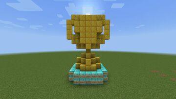A Trophy! Minecraft Map & Project