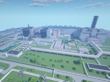 Chernobyl Nuclear Power Station 1985 Final Version Minecraft Map & Project
