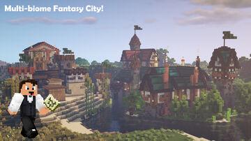 Fantasy City Minecraft Map & Project