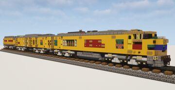 "1.5:1 Scale Union Pacific Gas Turbine-Electric Locomotive ""Big Blow"" #26 Minecraft Map & Project"
