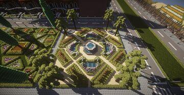Italian ornamental gardens pack Minecraft Map & Project