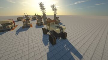Compact Monster Truck Jeep Humvee Variant Minecraft Map & Project
