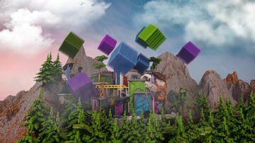 🏙 CITY BUILD LOBBY /HUB 🏙 Minecraft Map & Project