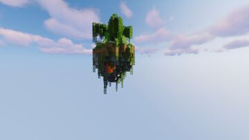 Sky island survival Minecraft Map & Project