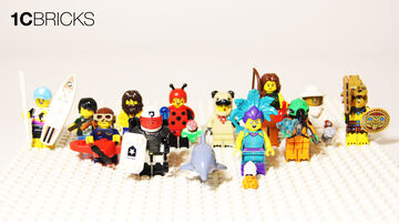 LEGO Minifigures 71029 Series 21 Review Minecraft Blog