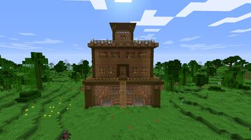 Server Spawn Build Minecraft Map & Project