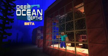 Deep Ocean Depths (survival map). Build your own underwater city! Minecraft Map & Project