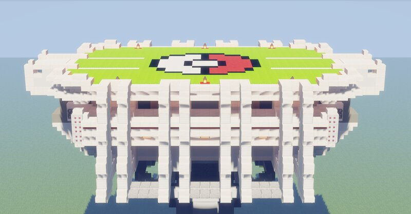 Pokemon Arena Original Design  Side View Noon