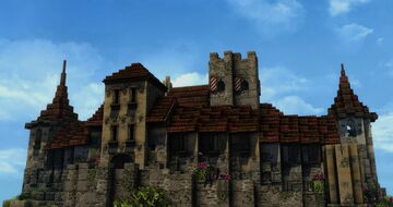 Castle Castalleon (Conquest reforged) Minecraft Map & Project