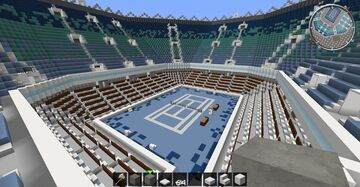 Tennis stadium Minecraft Map & Project