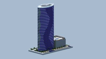 The Ellipse Apartments | Jersey City Minecraft Map & Project