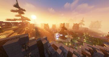 Spawn - Lobby - Hub // Kitpvp // Farmland Minecraft Map & Project