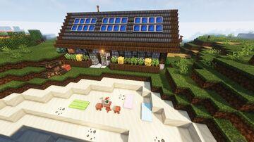 Summer Solar Barn Minecraft Map & Project