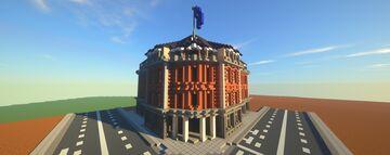 European Hotel Minecraft Map & Project