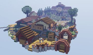 Corvo Bianco, Toussaint from «Witcher 3: Blood & Wine». Minecraft Map & Project
