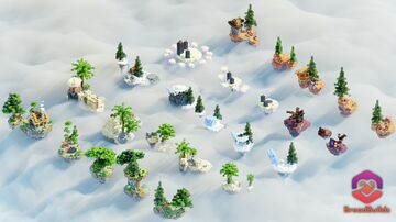 25x SkyBlock Starting Islands ❯ Pack Minecraft Map & Project