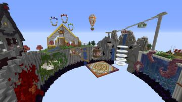 The_Ultimate_Challenge Parkour Minecraft Map & Project