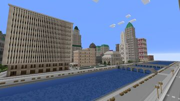 Yvent City Minecraft Map & Project