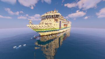 OACL Waterline - custom cruise ship Minecraft Map & Project