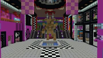 Freddy Fazbear's Mega PizzaPlex Minecraft Map & Project