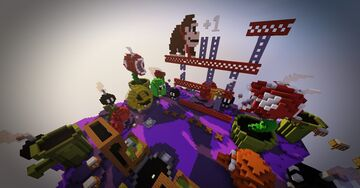 LOBBY - RETRO Minecraft Map & Project