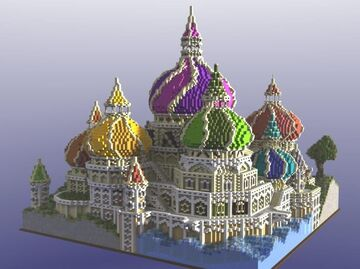 Fantasy on Moscow Minecraft Map & Project