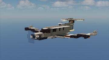 U-28A Draco - 1.5:1 Minecraft Map & Project