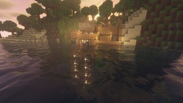 Partially Submerged Condo Minecraft Map & Project