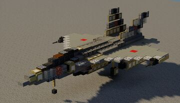 F/A-30 Wasp Minecraft Map & Project