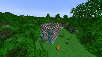 Amazing TNT Player Launcher Minecraft Map & Project