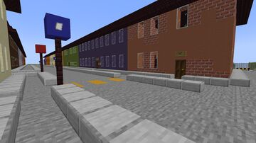 The Small Town of Test Bubble 037 Minecraft Map & Project