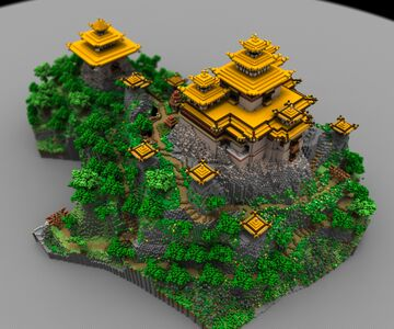 Templo Taoista from Deimos (ONLY PICTURES) Minecraft Map & Project