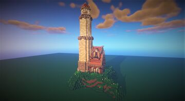 The Lighthouse Minecraft Map & Project