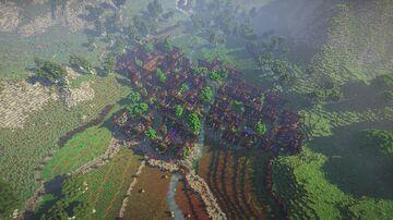 Gardiville - The Garden Village Minecraft Map & Project
