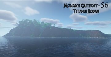 Monarch Outpost-56 ( Isla De Mara ) Minecraft Map & Project
