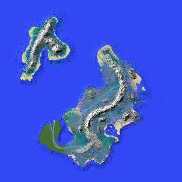 EpicIslands (with pine forests and big mountains) Minecraft Map & Project
