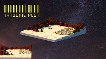 Tatooine Plot Minecraft Map & Project