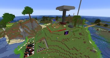 (Download on GoogleDrive) Twitch Realm (June 2021 - August 2021) Minecraft Map & Project