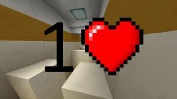 1 Heart Minecraft Map & Project