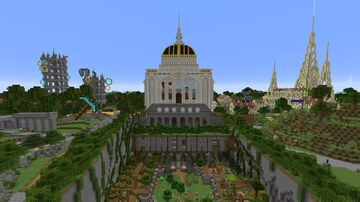 Minecraft Java Edition Fan-made Tutorial World. Pre- release. w/ Download Minecraft Map & Project