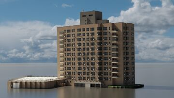 Briarcliff Apartments in The Bronx, New York (1:1 Scale!) Minecraft Map & Project