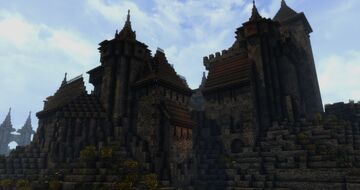 Castle Rabenstejn (Conquest reforged) Minecraft Map & Project