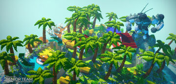 Pixelmon Land Minecraft Map & Project