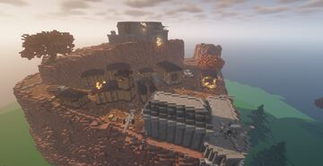 Team PvP Map Minecraft Map & Project