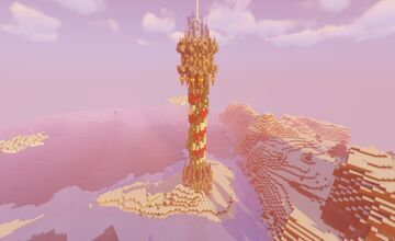 North Pole/Central Tower (Download Available) Minecraft Map & Project