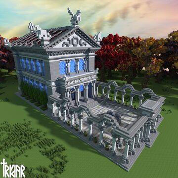 Roman Senate House +tutorial Minecraft Map & Project